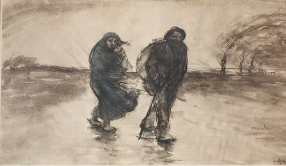 Sous L'Onde, 1911 - Theophile Steinlen