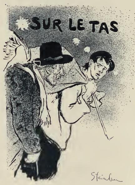 Sur Le Tas, 1893 - Theophile Steinlen