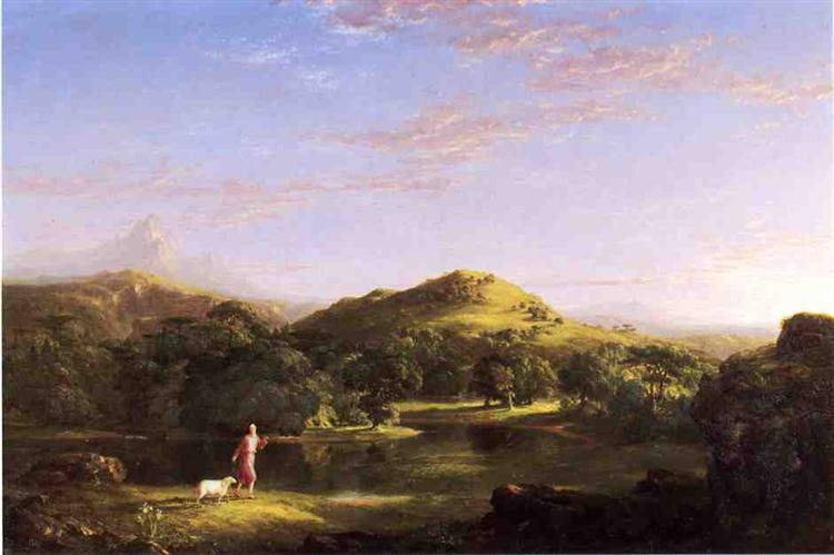 The Good Shepherd - Thomas Cole
