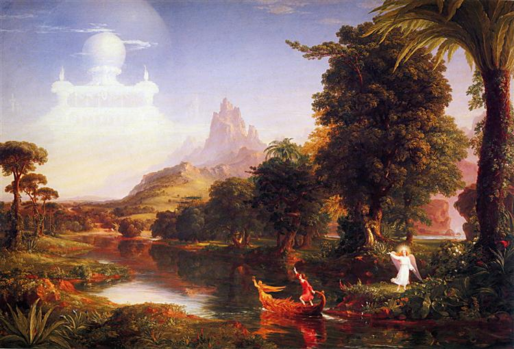 The Voyage of Life: Youth, 1842 - Thomas Cole