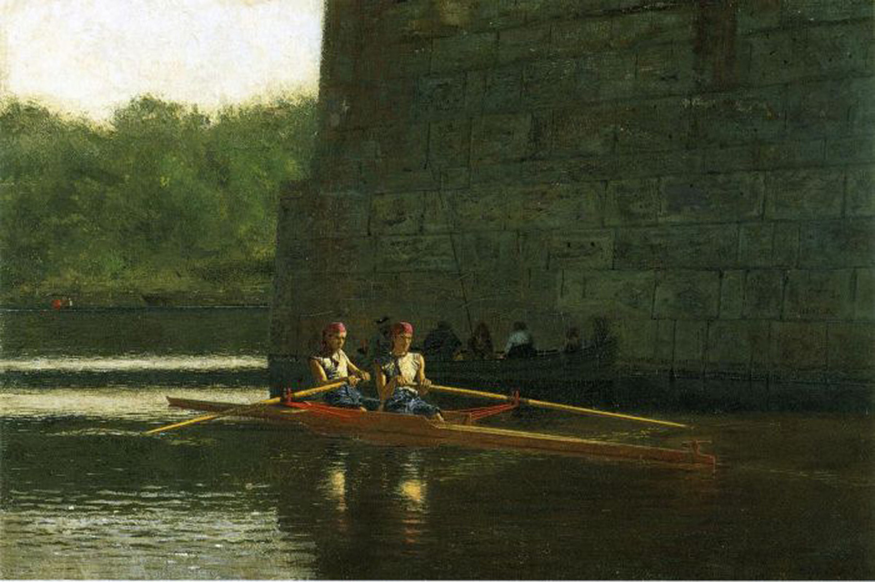 The Oarsmen ( The Schreiber Brothers), 1874 - Thomas ...