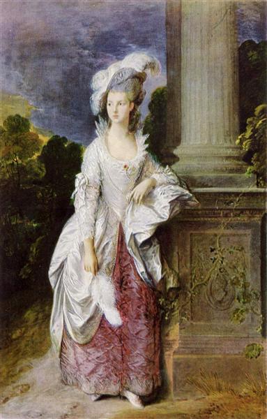 The Hon. Mrs. Graham, 1777 - Thomas Gainsborough