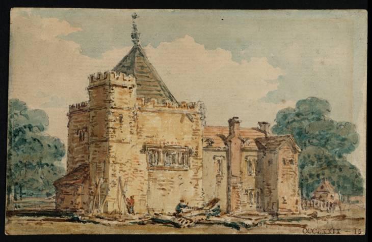 The Kitchen at Stanton Harcourt, Oxfordshire, 1797 - Thomas Girtin