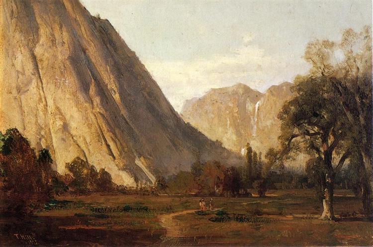 Piute Indians, Yosemite - Thomas Hill