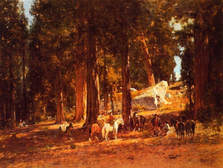 The Mountain Pass, 1900 - Thomas Hill