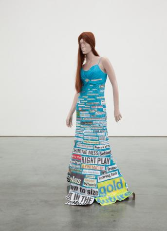 Subjecter (News-poetry), 2010 - Thomas Hirschhorn