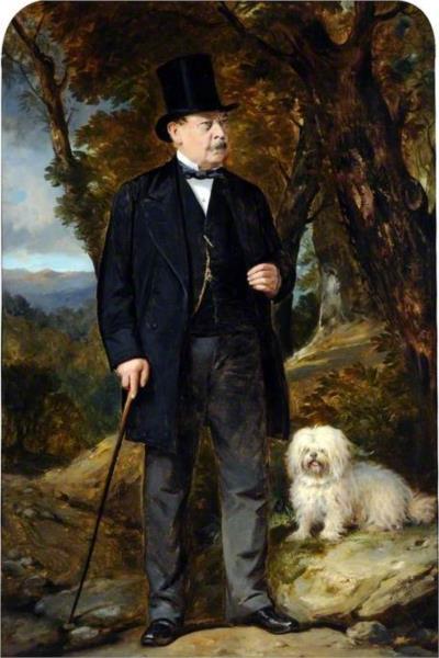 John Newton Mappin, 1877 - Thomas Jones Barker