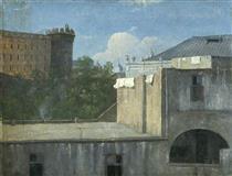 Edifici a Napoli con il lato nord-est - Thomas Jones