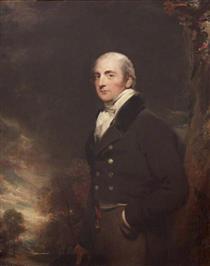 Charles Rose Ellis, 1st Baron Seaford of Seaford, MP - Thomas Lawrence