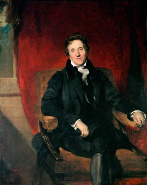 Sir John Soane, Aged 76, 1829 - Thomas Lawrence