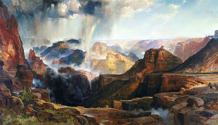 The Chasm of the Colorado, 1874 - Thomas Moran