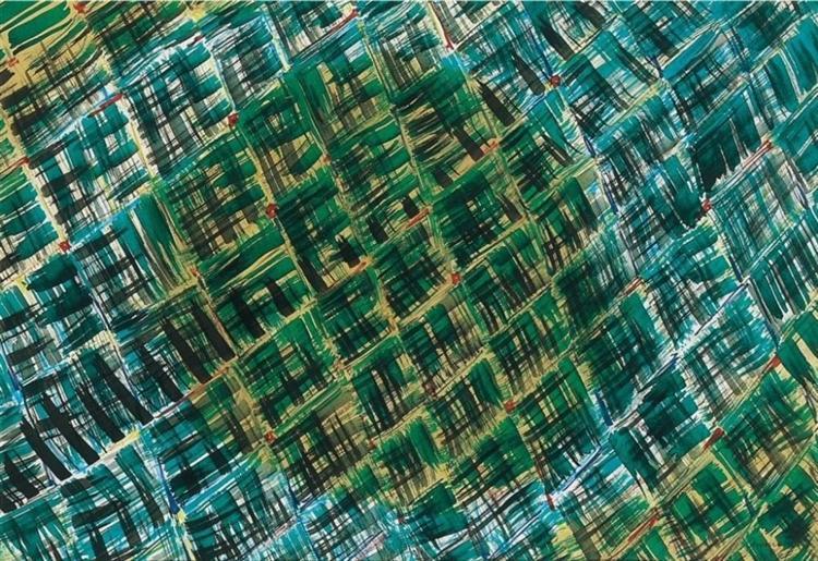 Composition, 1961 - Tihamer Gyarmathy