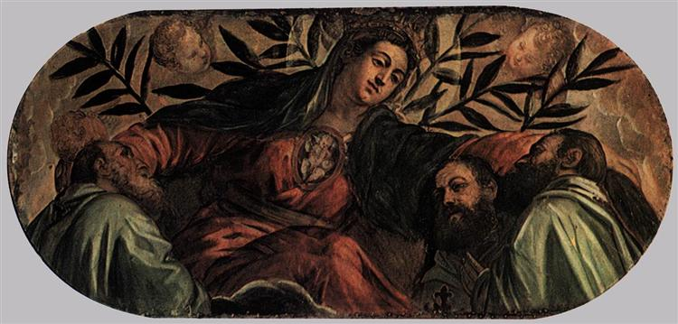 Allegory of the Scuola della Misericordia, c.1564 - Tintoretto