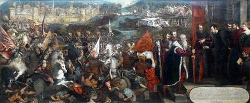 Battle of Asola - Tintoretto