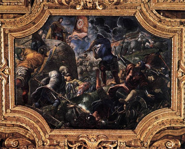 Defence of Brescia, 1584 - Tintoretto