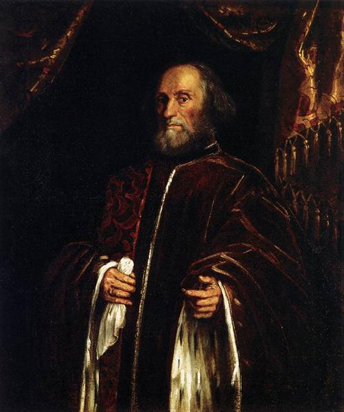 Portrait of a Senator, c.1580 - Tintoretto