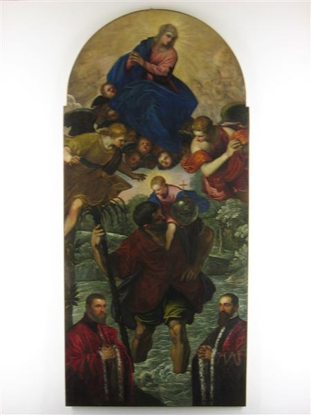 St. Christopher - Tintoretto
