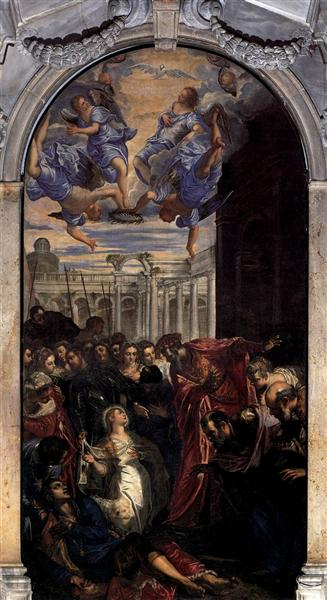 The Miracle of St Agnes, c.1577 - Tintoretto