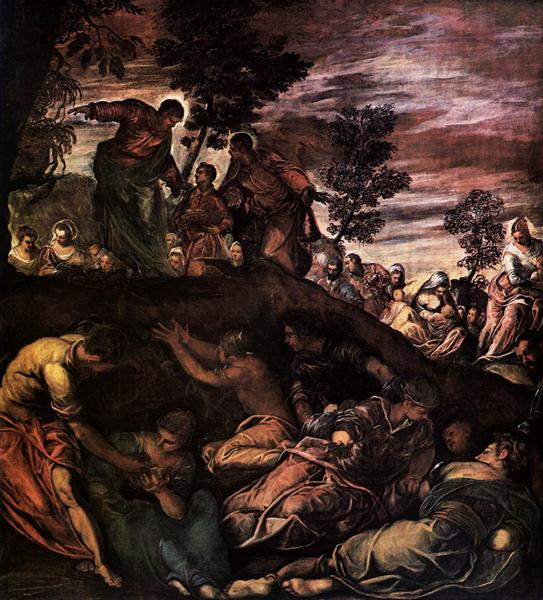 The Miracle of the Loaves and Fishes, 1579 - 1581 - Tintoretto
