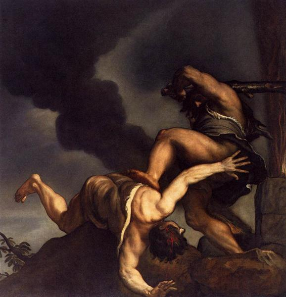 Cain and Abel, 1542 - 1544 - Tiziano