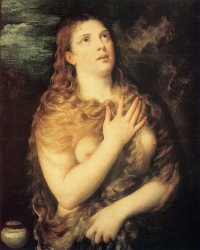 Mary Magdalen Repentant - Titian