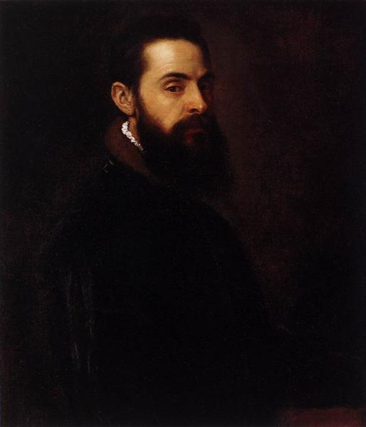 Portrait of Antonio Anselmi, c.1550 - Titian