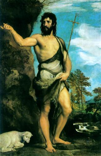 St. John the Baptist - Titian