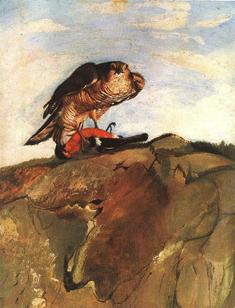 Bird of Prey, 1893 - Tivadar Kosztka Csontvary