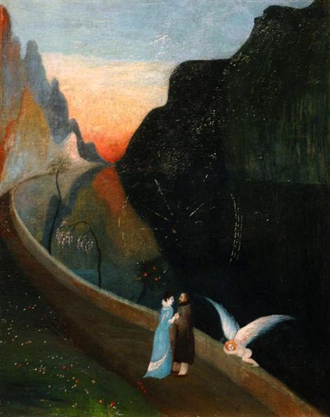 Rendez-vous of Lovers - Tivadar Kosztka Csontvary