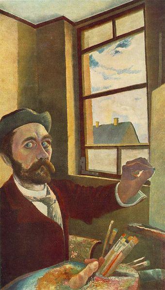 Self-Portrait, 1900 - Tivadar Kosztka Csontvary