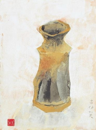 Old Iga Ware - Okumura Togyu