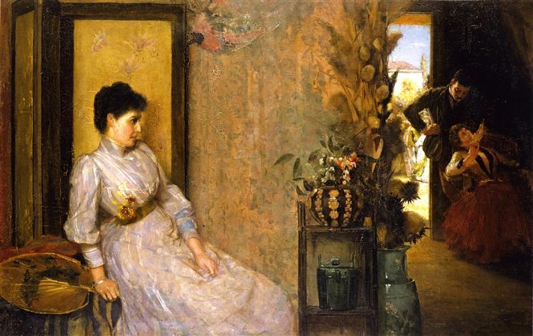 Jealousy, 1889 - Tom Roberts