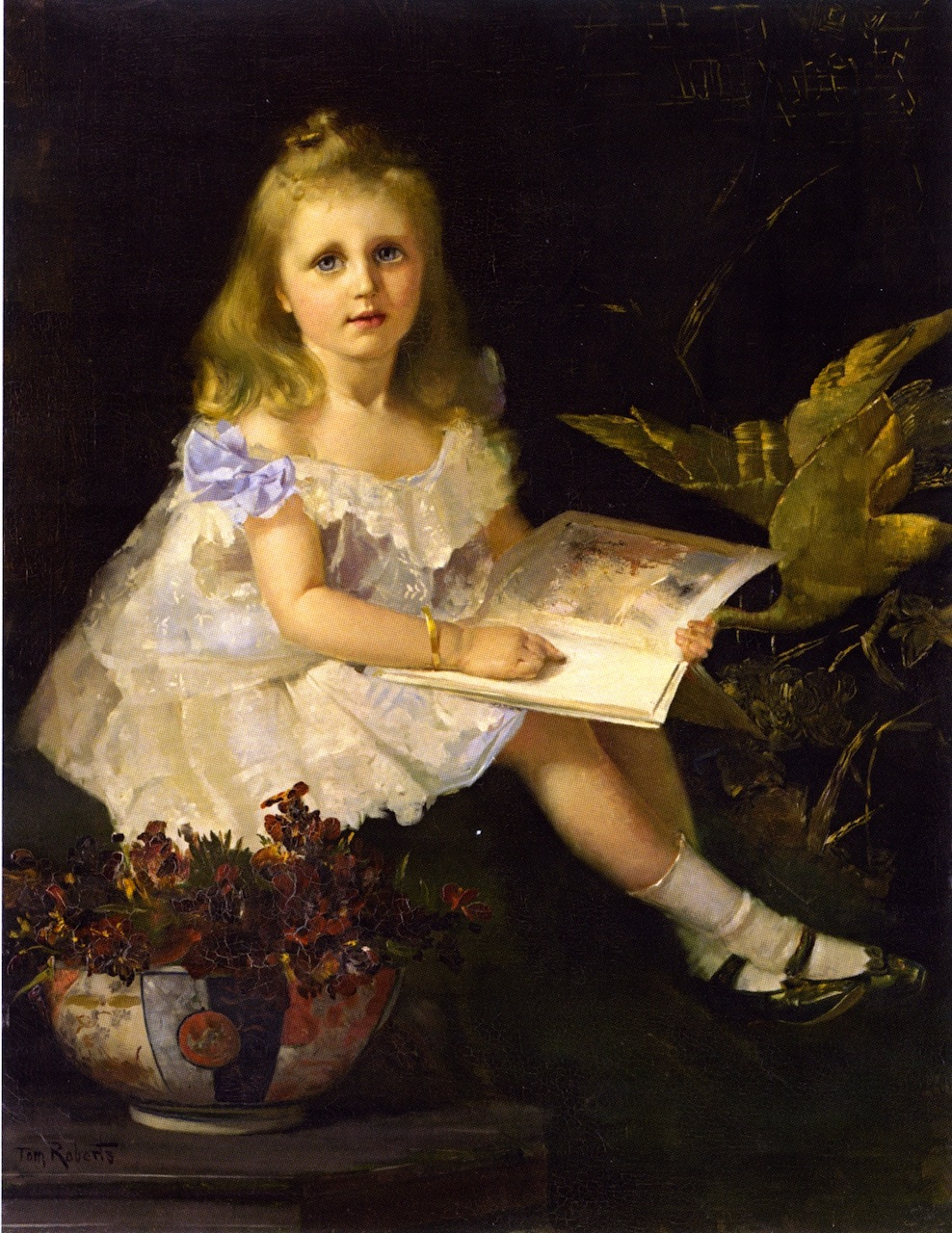 Louise, Daughter of the Hon. L. I. Smith, 1888