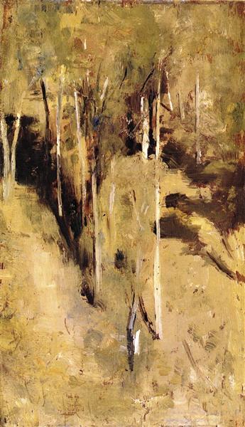 Saplings, 1889 - Tom Roberts