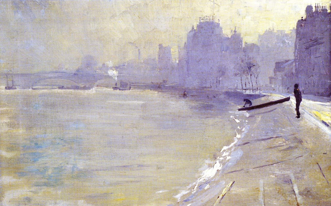 The Towpath, Putney, 1904