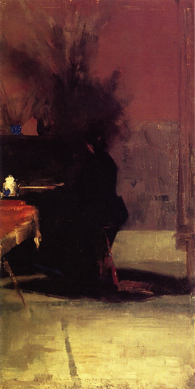 Woman at the Piano, 1889