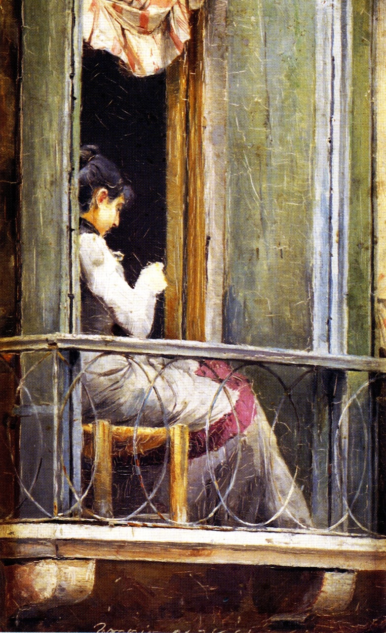 Woman on a Balcony, 1884