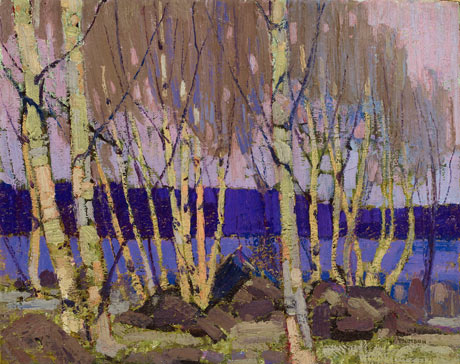 Evening, Canoe Lake, 1916 - Том Томсон