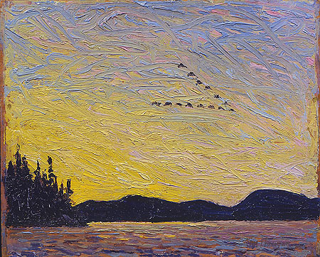 Round Lake, Mud Bay - Tom Thomson