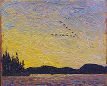 Round Lake, Mud Bay - Tom Thomson