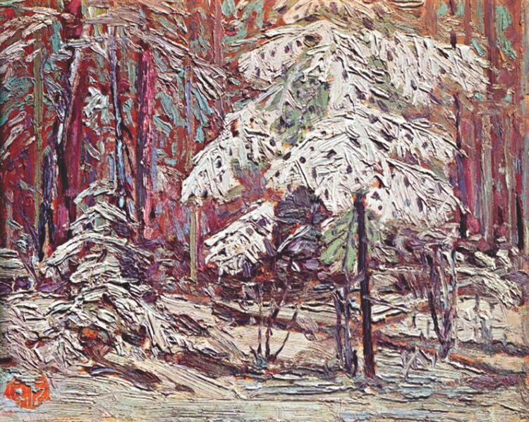 Snow in the Woods, 1916 - Tom Thomson