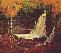 Woodland Waterfall - Tom Thomson