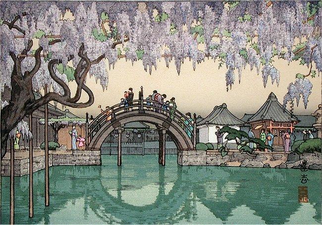 Half Moon Bridge, 1941 - Toshi Yoshida