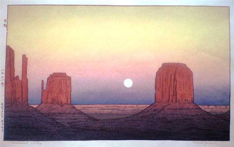 Monument Valley, 1971 - Toshi Yoshida