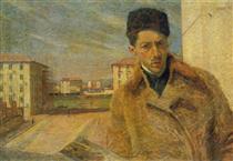 Self-portrait - Умберто Боччони