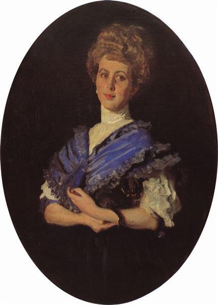 Portrait of Elisaveta Karzinkina, 1906 - Valentin Serov