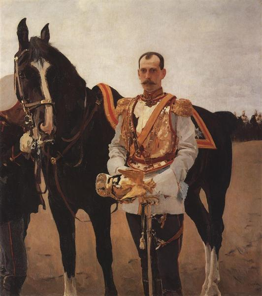 Portrait of Grand Duke Paul Alexandrovich, 1897 - Valentin Serov