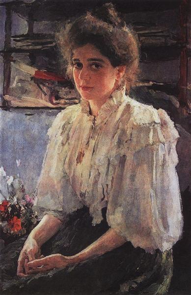 Portrait of Maria Lvova, 1895 - Valentin Serov
