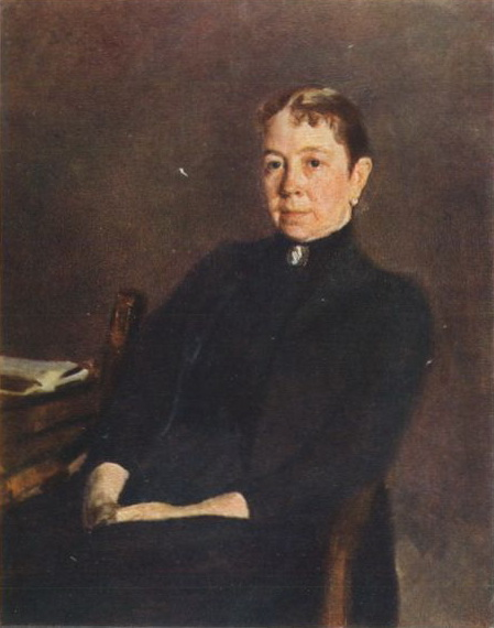 Portrait of P.D. Antipova, 1890 - Valentin Serov