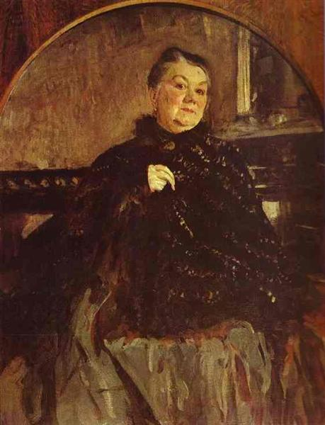 Portrait of the Actress Glikeria Fedotova, 1905 - Valentin Serov